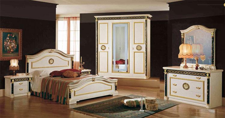 Kommode Schlafzimmer Highboard Elfenbein Hochglanz Griechisches ...