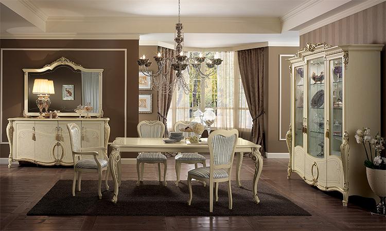 wohnwand glasvitrine vitrinenschrank linde silber gold dekor italienische m bel ebay. Black Bedroom Furniture Sets. Home Design Ideas