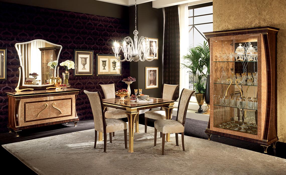 exklusiver buffet anrichte sideboard mit bar klassische italienische stil m bel ebay. Black Bedroom Furniture Sets. Home Design Ideas