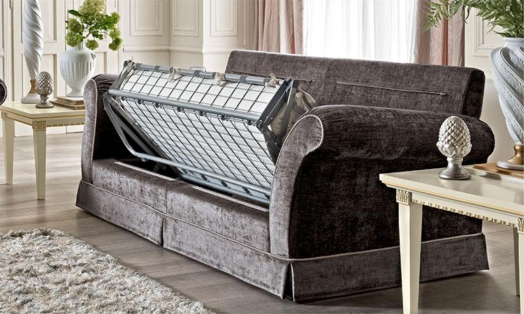 luxus sofa couch 3 sitzer polster stoff zeitlose klassische stil m bel italien ebay. Black Bedroom Furniture Sets. Home Design Ideas