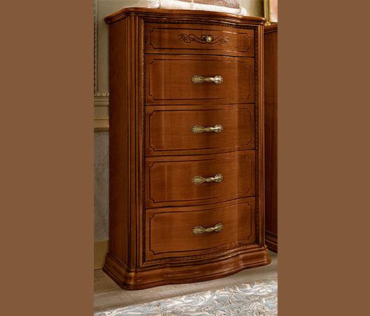 luxus hochkommode farbe nussbaum torriani vip furnier stilm bel aus italy ebay. Black Bedroom Furniture Sets. Home Design Ideas
