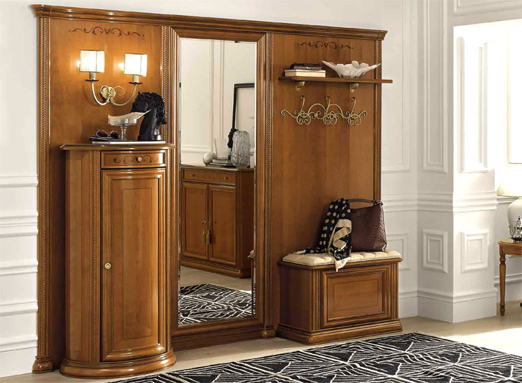 konsole flur diele vorraum m bel kirsch siena klassische stilm bel italia ebay. Black Bedroom Furniture Sets. Home Design Ideas