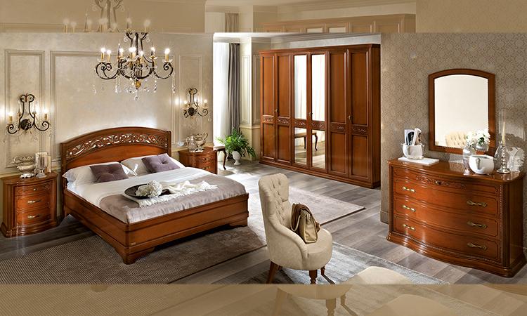 bett doppelbett futonbett 180x200 cm nussbaum italienische stilm bel ebay. Black Bedroom Furniture Sets. Home Design Ideas