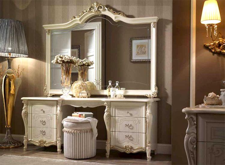 kleiderschrank schlafzimmerschrank linde silber gold dekor italienische m bel ebay. Black Bedroom Furniture Sets. Home Design Ideas