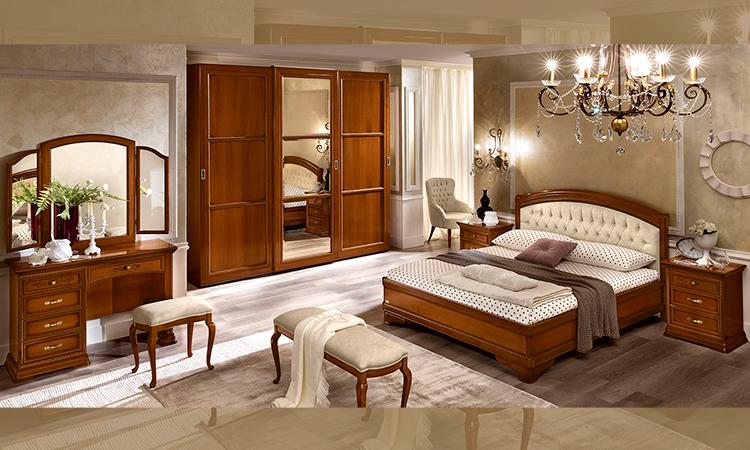 bett doppelbett futonbett 160x200 cm nussbaum klassische italienische stilm bel ebay. Black Bedroom Furniture Sets. Home Design Ideas