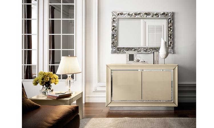 esstisch mit glasplatte beige hochglanz modern massivholz. Black Bedroom Furniture Sets. Home Design Ideas